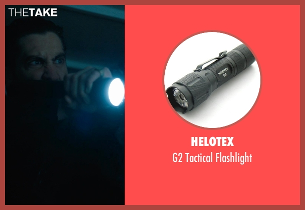 Helotex flashlight from Prisoners seen with Jake Gyllenhaal (Detective Loki)