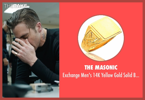 The Masonic ring from Prisoners seen with Jake Gyllenhaal (Detective Loki)