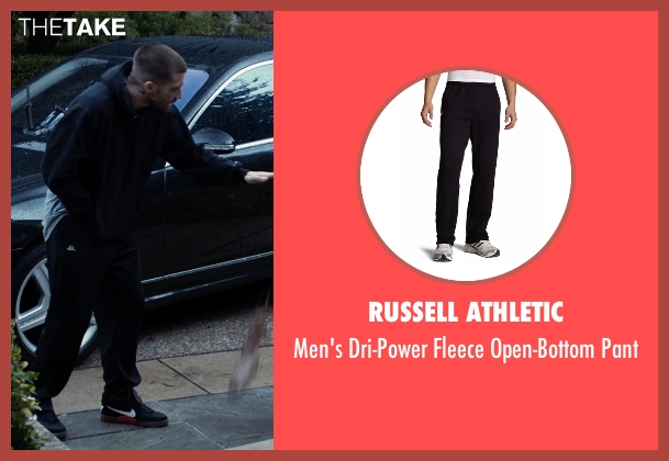 Russell Athletic black pant from Southpaw seen with Jake Gyllenhaal (Billy Hope)