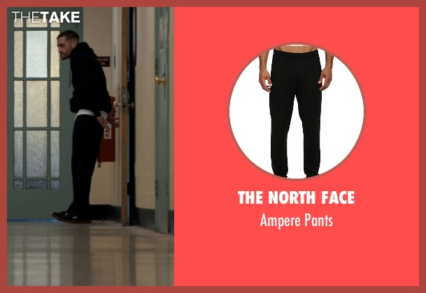 The North Face black pants from Southpaw seen with Jake Gyllenhaal (Billy Hope)