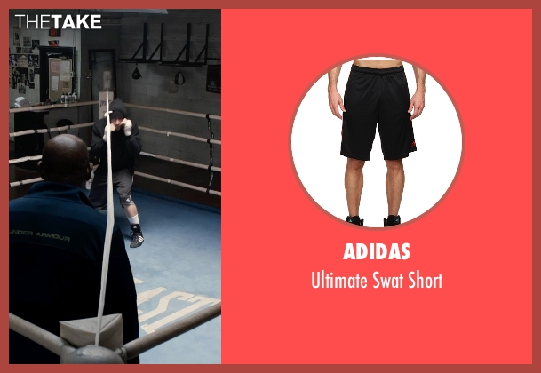 Adidas black short from Southpaw seen with Jake Gyllenhaal (Billy Hope)