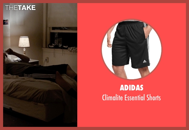 Adidas black shorts from Southpaw seen with Jake Gyllenhaal (Billy Hope)