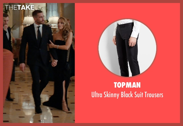 Topman black trousers from Southpaw seen with Jake Gyllenhaal (Billy Hope)