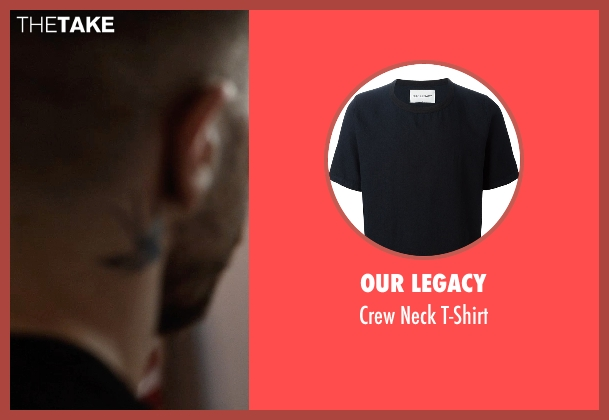 Our Legacy black t-shirt from Southpaw seen with Jake Gyllenhaal (Billy Hope)