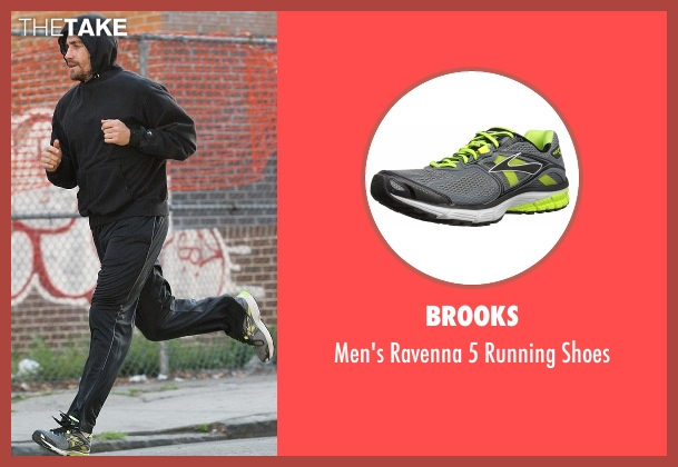 Brooks gray shoes from Southpaw seen with Jake Gyllenhaal (Billy Hope)
