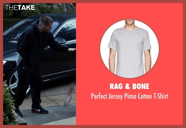 Rag & Bone gray t-shirt from Southpaw seen with Jake Gyllenhaal (Billy Hope)