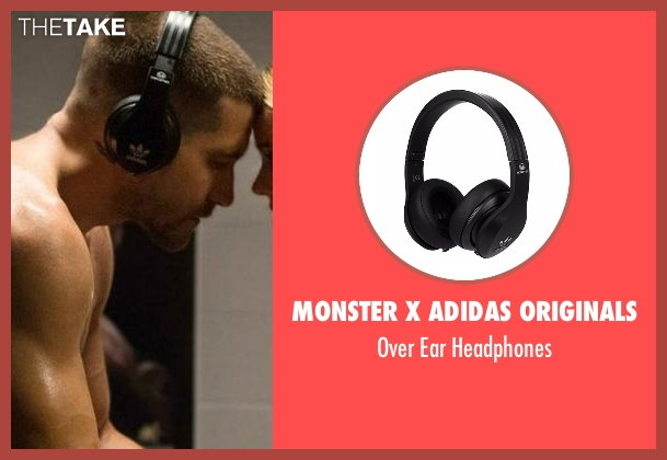 Monster X Adidas Originals headphones from Southpaw seen with Jake Gyllenhaal (Billy Hope)