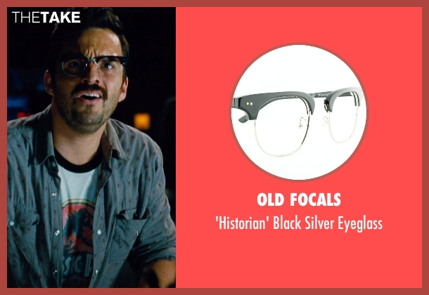 Old Focals black eyeglass from Jurassic World seen with Jake Johnson (Lowery)