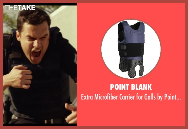 Point Blank armor from Let's Be Cops seen with Jake Johnson (Ryan Davis)