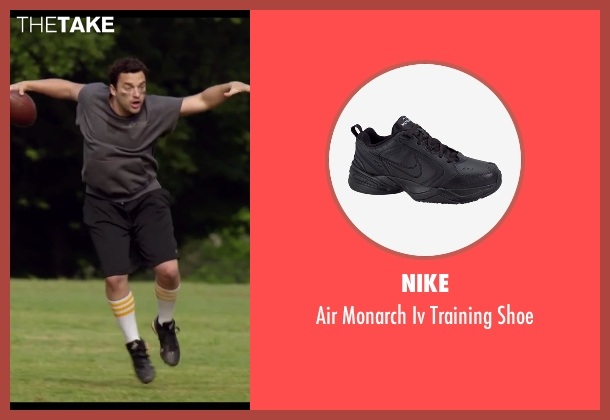 Nike black shoe from Let's Be Cops seen with Jake Johnson (Ryan Davis)
