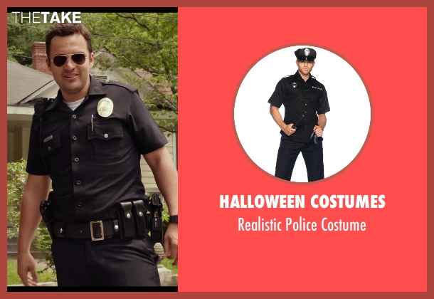 Halloween Costumes costume from Let's Be Cops seen with Jake Johnson (Ryan Davis)