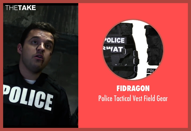 Fidragon gear from Let's Be Cops seen with Jake Johnson (Ryan Davis)