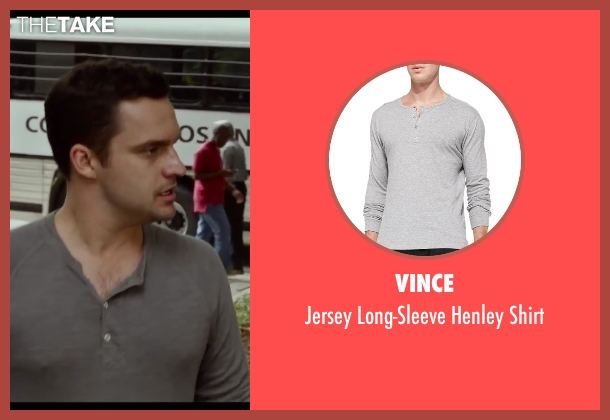 Vince gray shirt from Let's Be Cops seen with Jake Johnson (Ryan Davis)