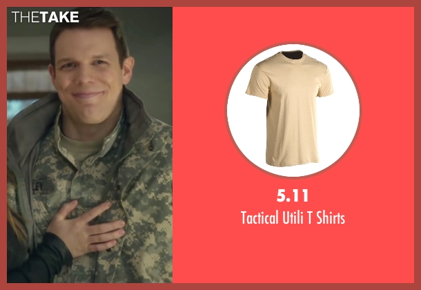 5.11 beige shirts from Love the Coopers seen with Jake Lacy (Joe)