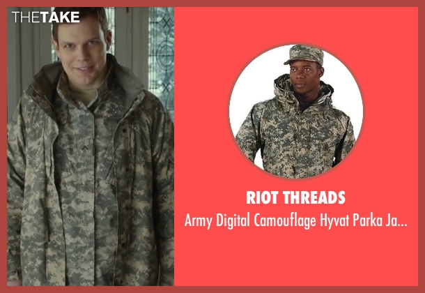 Riot Threads jacket from Love the Coopers seen with Jake Lacy (Joe)