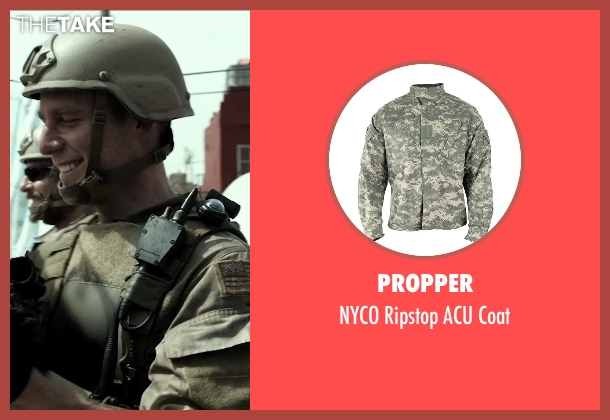 Propper coat from American Sniper seen with Jake McDorman (Biggles)