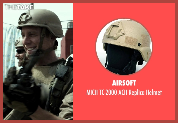 Airsoft helmet from American Sniper seen with Jake McDorman (Biggles)