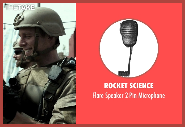 Rocket Science microphone from American Sniper seen with Jake McDorman (Biggles)