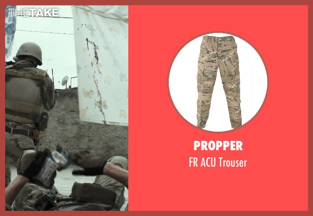 Propper trouser from American Sniper seen with Jake McDorman (Biggles)