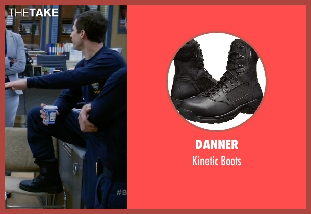 Danner black boots from Brooklyn Nine-Nine seen with Jake Peralta (Andy Samberg)