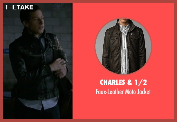 Charles & 1/2 brown jacket from Brooklyn Nine-Nine seen with Jake Peralta (Andy Samberg)