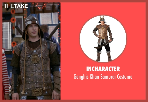 InCharacter costume from Brooklyn Nine-Nine seen with Jake Peralta (Andy Samberg)