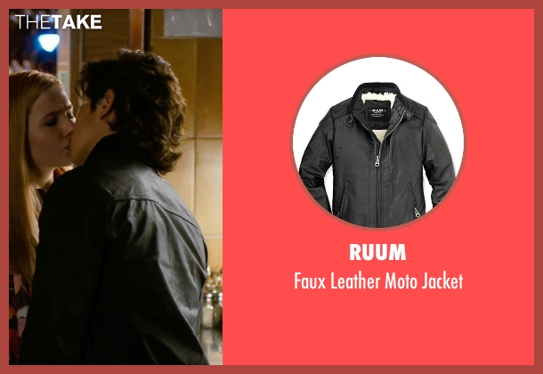 Ruum black jacket from New Year's Eve seen with Jake T. Austin (Seth)