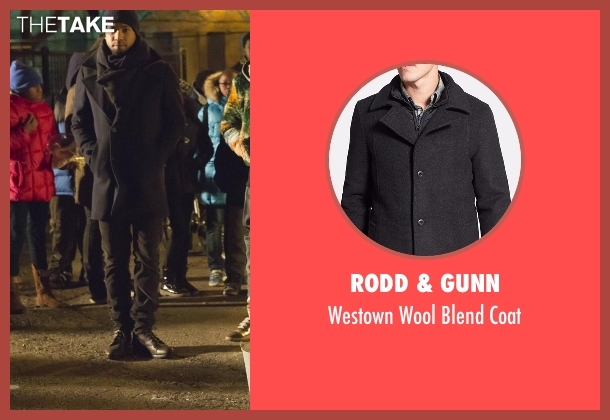 Rodd & Gunn black coat from Empire seen with Jamal Lyon (Jussie Smollett)