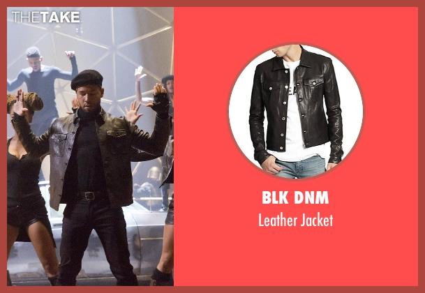 BLK DNM black jacket from Empire seen with Jamal Lyon (Jussie Smollett)