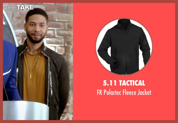 5.11 Tactical black jacket from Empire seen with Jamal Lyon (Jussie Smollett)