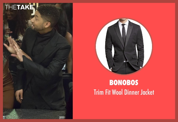 Bonobos black jacket from Empire seen with Jamal Lyon (Jussie Smollett)