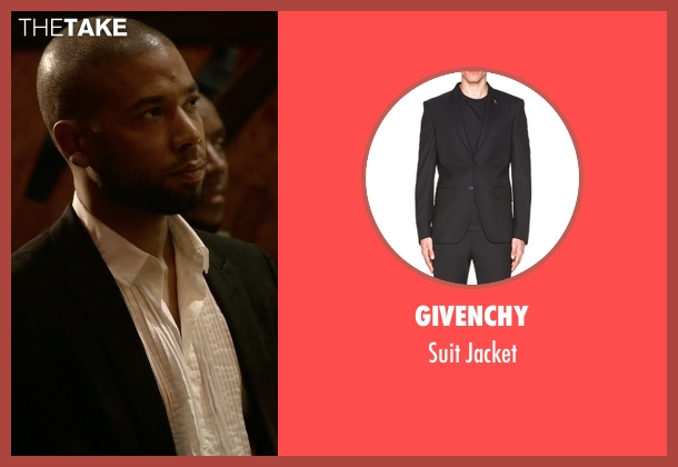 Givenchy black jacket from Empire seen with Jamal Lyon (Jussie Smollett)