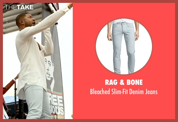 Rag & Bone blue jeans from Empire seen with Jamal Lyon (Jussie Smollett)