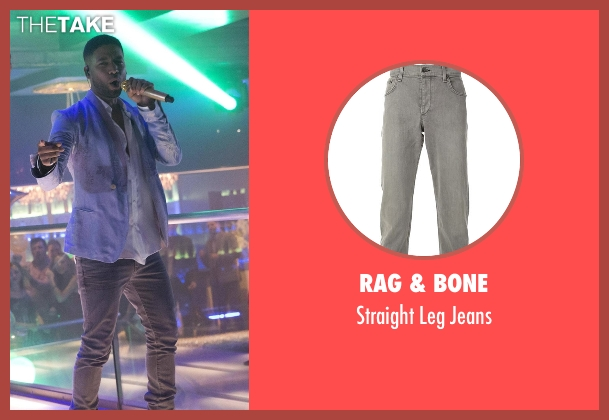 Rag & Bone gray jeans from Empire seen with Jamal Lyon (Jussie Smollett)
