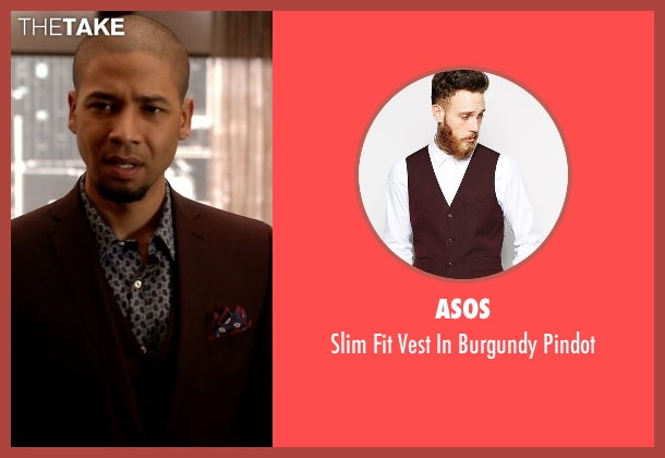 Asos red pindot from Empire seen with Jamal Lyon (Jussie Smollett)