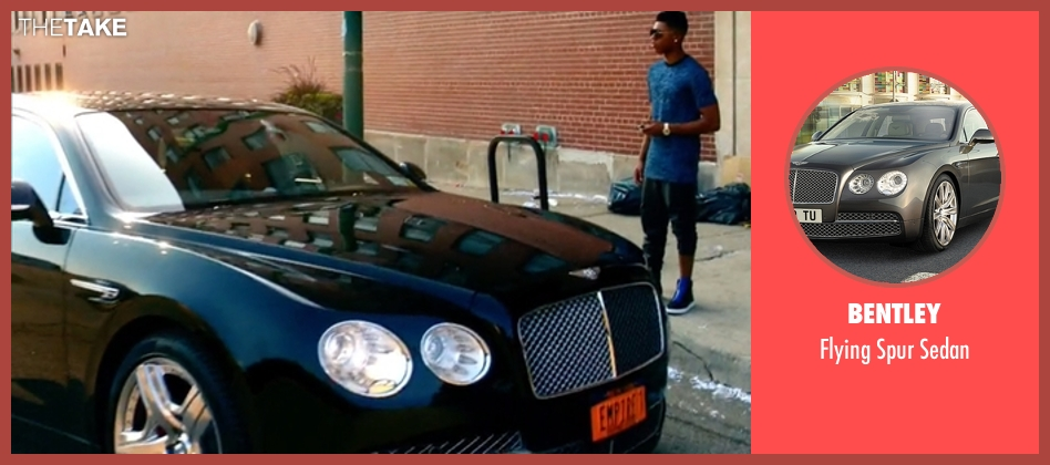 Bentley sedan from Empire seen with Jamal Lyon (Jussie Smollett)