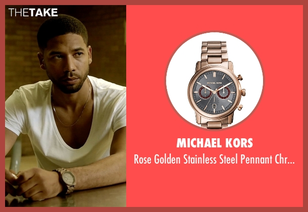 Michael Kors watch from Empire seen with Jamal Lyon (Jussie Smollett)