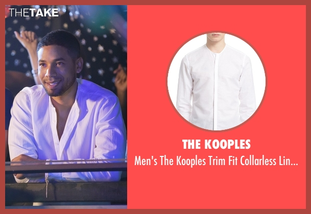 The Kooples white shirt from Empire seen with Jamal Lyon (Jussie Smollett)