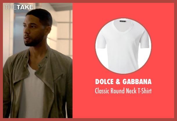 Dolce & Gabbana white t-shirt from Empire seen with Jamal Lyon (Jussie Smollett)