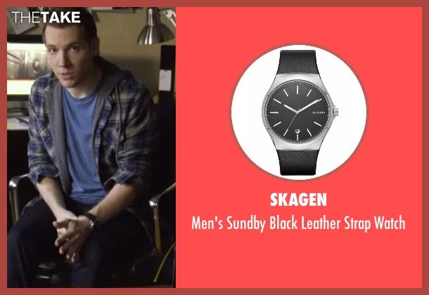 Skagen black watch from Blair Witch seen with James Allen McCune (James)
