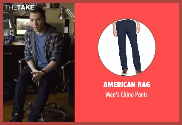 American Rag blue pants from Blair Witch seen with James Allen McCune (James)
