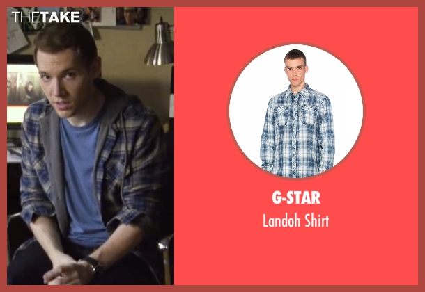 G-Star blue shirt from Blair Witch seen with James Allen McCune (James)