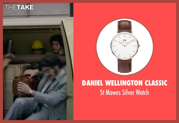 Daniel Wellington Classic brown watch from The Walk seen with James Badge Dale (Unknown Character)