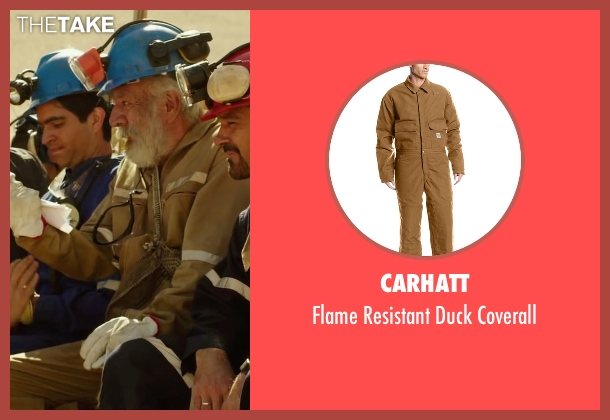 Carhatt brown coverall from The 33 seen with James Brolin (Unknown Character)