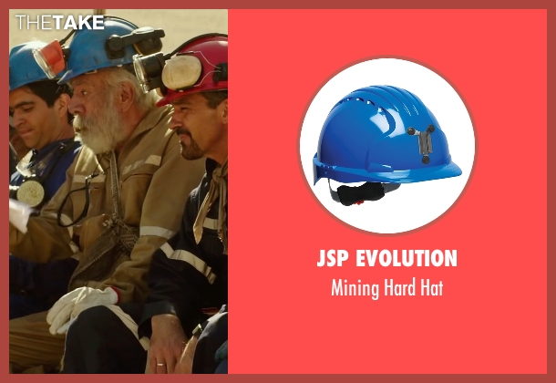 JSP Evolution hat from The 33 seen with James Brolin (Unknown Character)