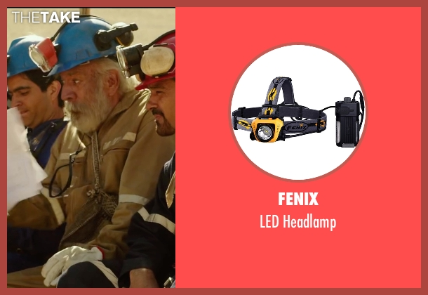 Fenix headlamp from The 33 seen with James Brolin (Unknown Character)