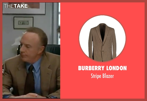 Burberry London beige blazer from Elf seen with James Caan (Walter)