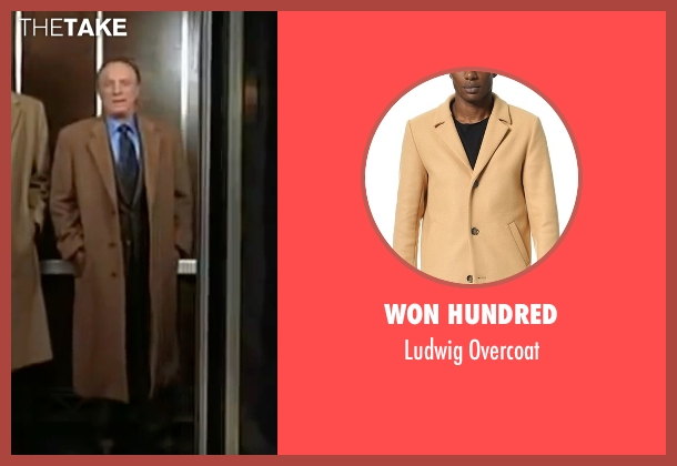 Won Hundred beige overcoat from Elf seen with James Caan (Walter)