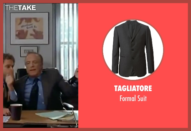 Tagliatore gray suit from Elf seen with James Caan (Walter)