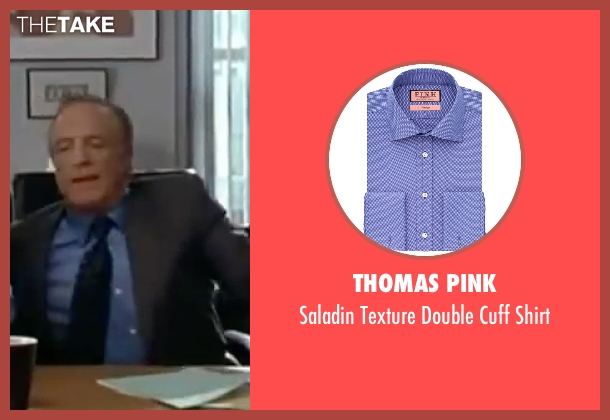 Thomas Pink purple shirt from Elf seen with James Caan (Walter)
